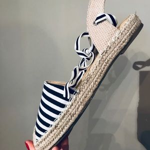 Shoes - NEW Striped Espadrilles